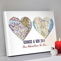 Heart Shaped Canvas Wall Art Gift Idea - Beyond a Word