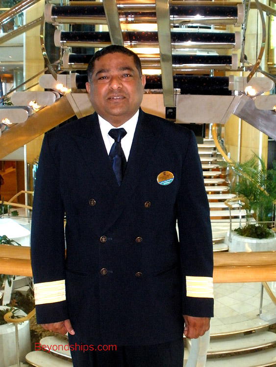 Grandeur of the Seas Interview with Hotel Director Sanjay Kumar