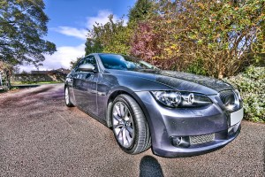 BMW 335 in HDR