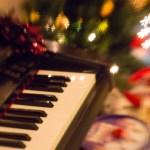Presents around the tree