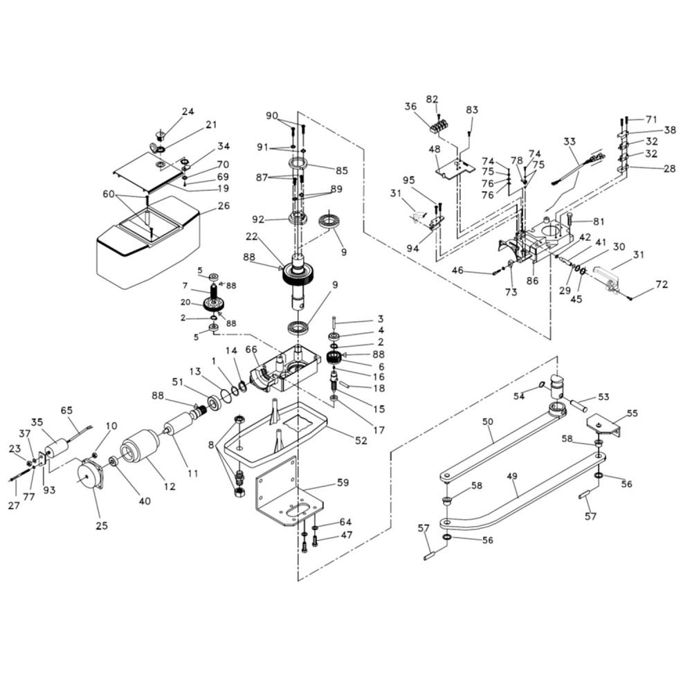 faac gate motor wiring diagram