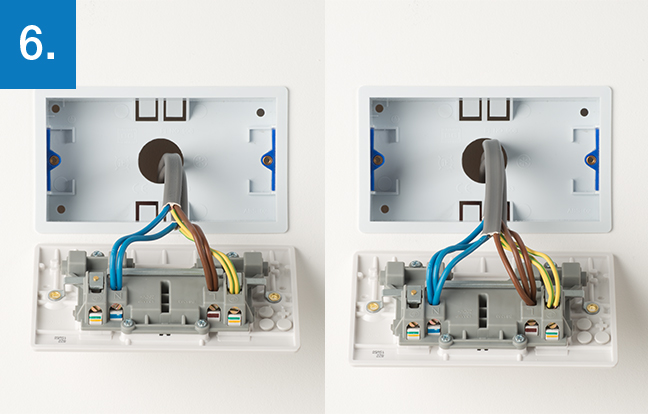 How to upgrade 2 gang socket BG Electrical Accessories