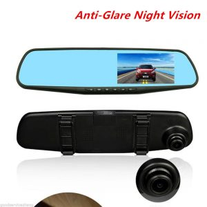 Mirror car dash cam dvr