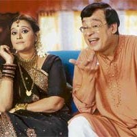 Praful and Hansa Jokes from the serial Khichdi