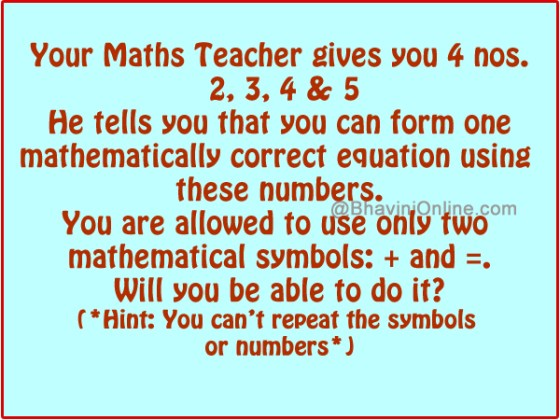 Math Riddles with Answers