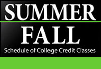 Summer & Fall Schedules
