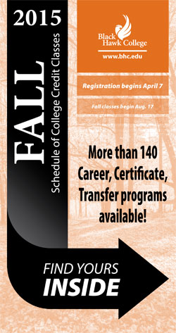 Fall 2015 Schedule of College Credit Classes