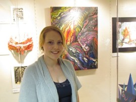 Student art awards 4-13 - winner Angela Husar