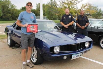 QC Vintage Rods Car Show Police Choice winner 9-2015