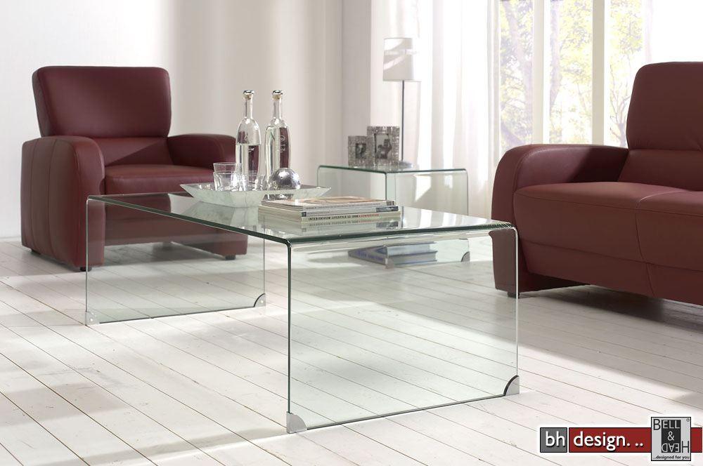 Designer Couchtisch Glas Prisma Hxhphh Rund Hohenverstellbar ...