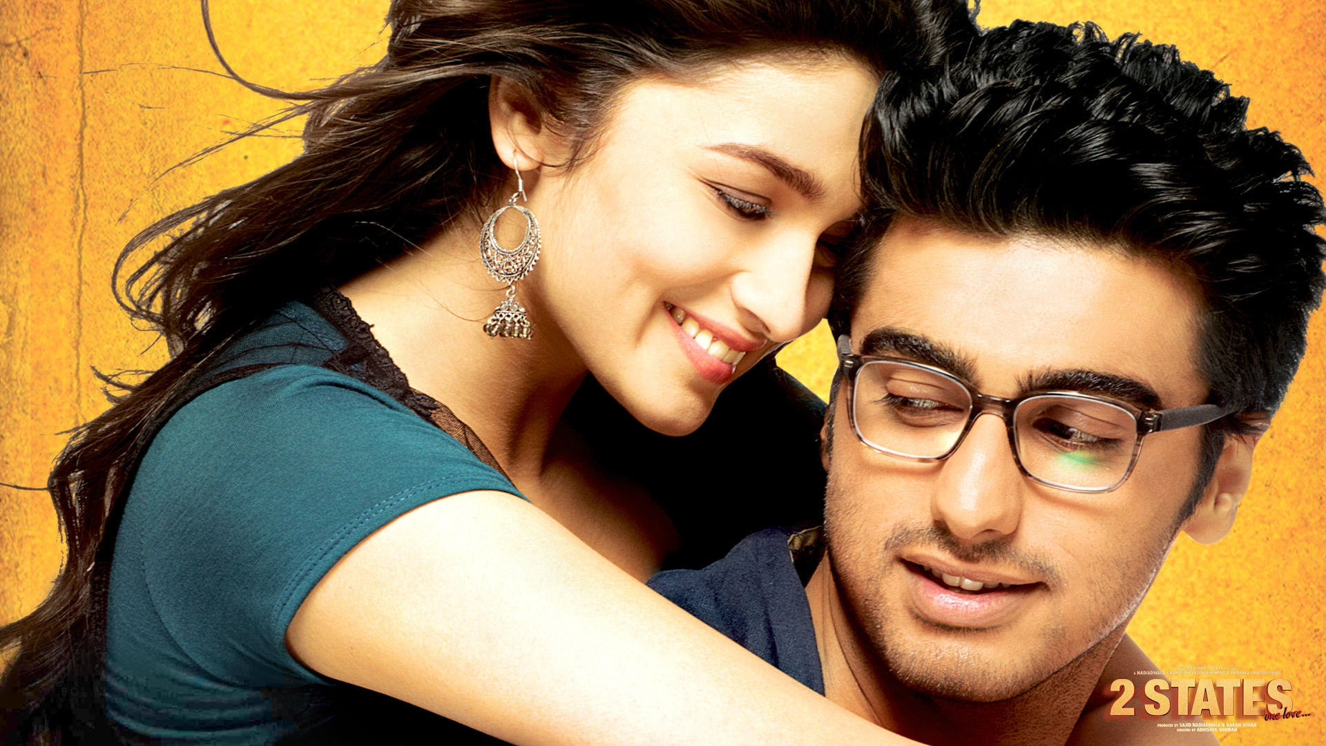 Romantic Couple Wallpapers With Love Quotes Hindi Alia Bhatt And Arjun Kapoor 2 States Wallpapers