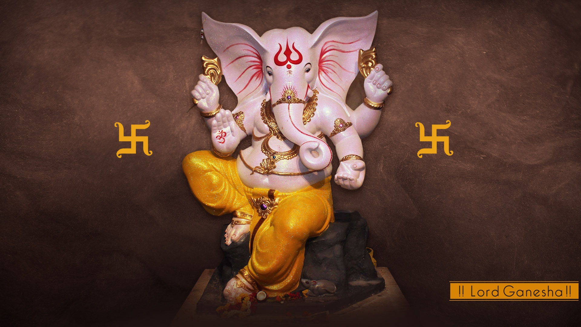 3d Ganesh Wallpapers Free Download For Pc God Ganesha Stone Statue Wallpapers 1920x1080 552345