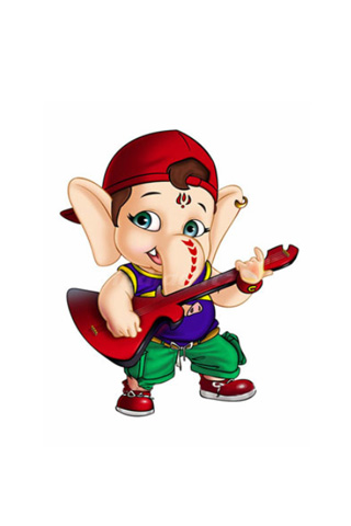 Wallpaper Cute Iphone My Friend Ganesha Wallpapers 320x480 48551