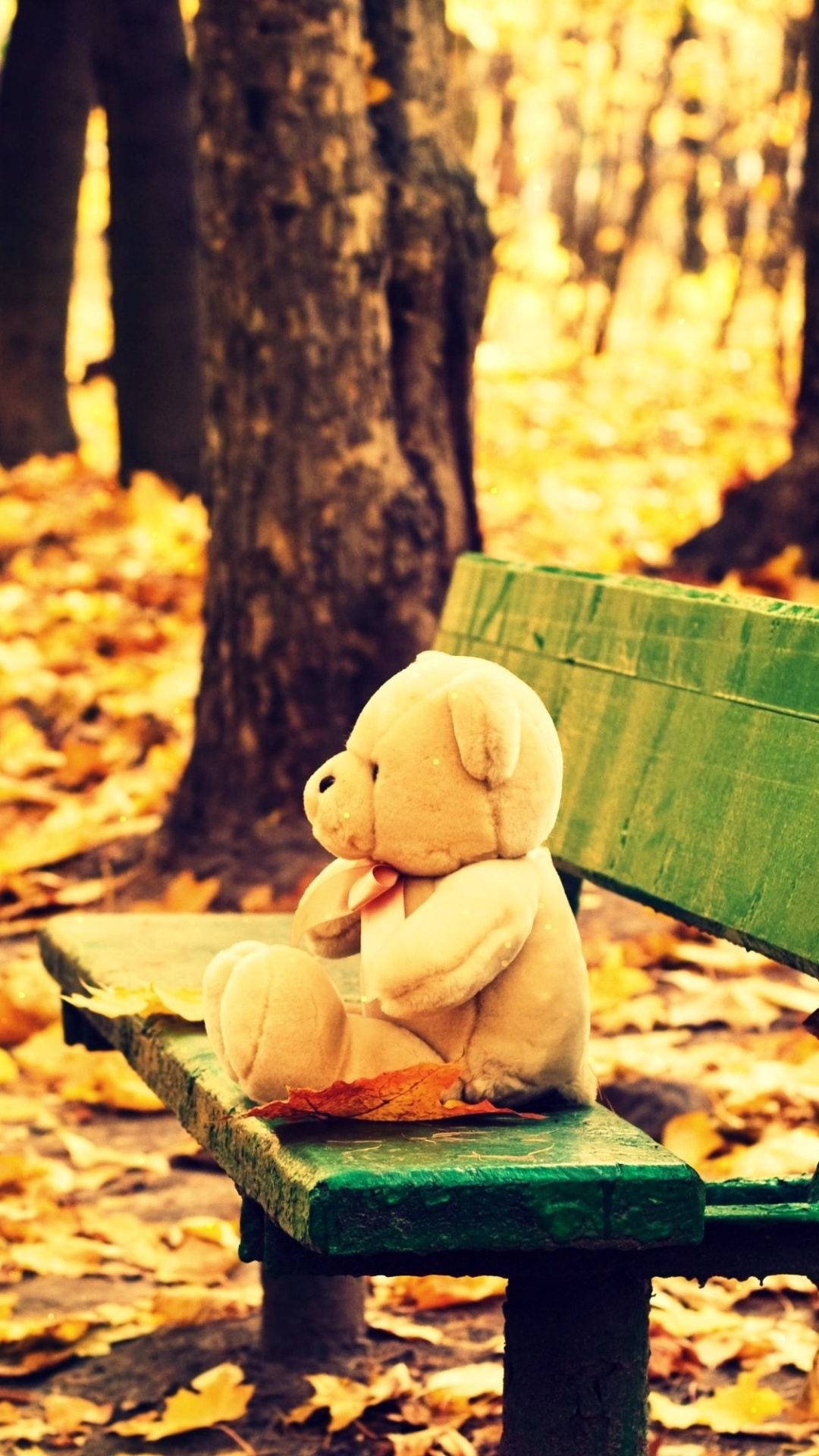 Www Alone Girl Wallpapers Com Sad Alone Teddy Bear Wallpapers 1080x1920 558825