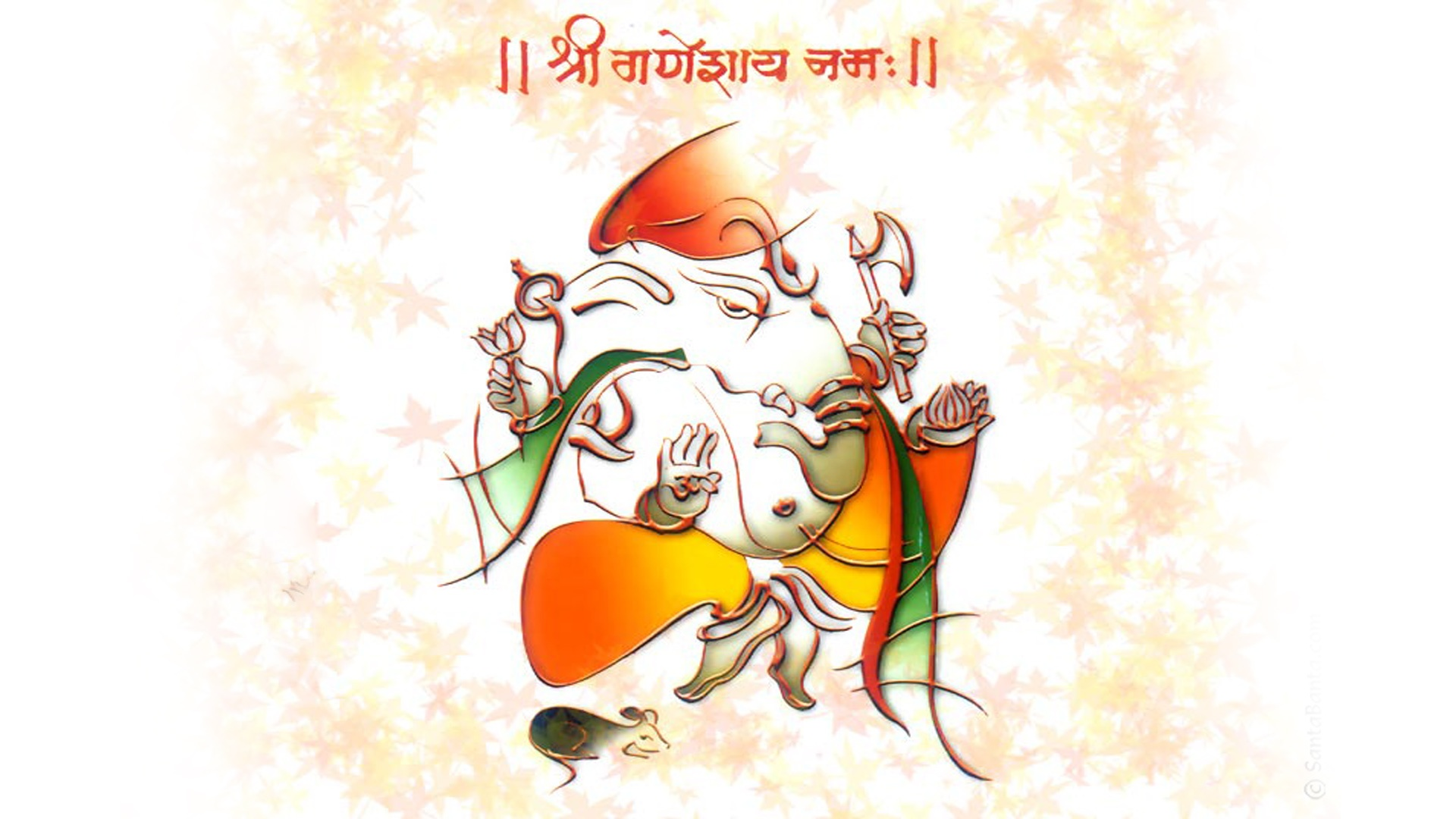 Vinayaka Chavithi Hd Wallpapers Shri Ganesh Colorful Wallpapers 1920x1080 332541