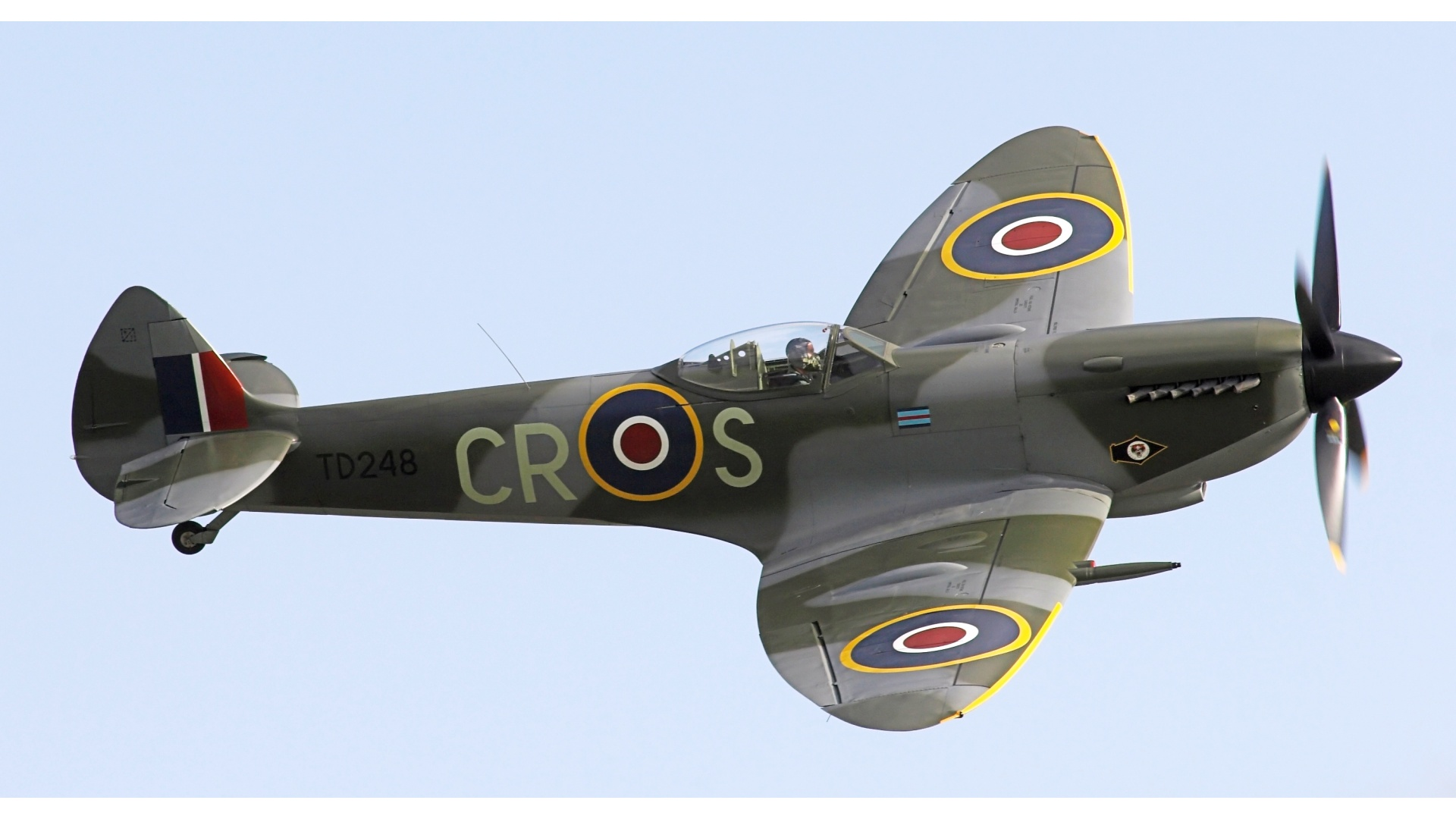 Os X Wallpapers Hd Supermarine Spitfire Mk Xvi Wallpapers 1920x1080 323584