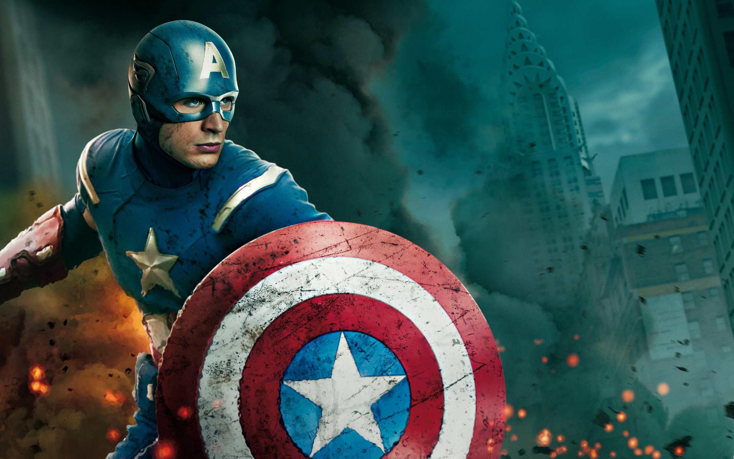 Download Filem 2012 The Avengers Movie 2012 In Captain America Wallpapers 2560x1600 x
