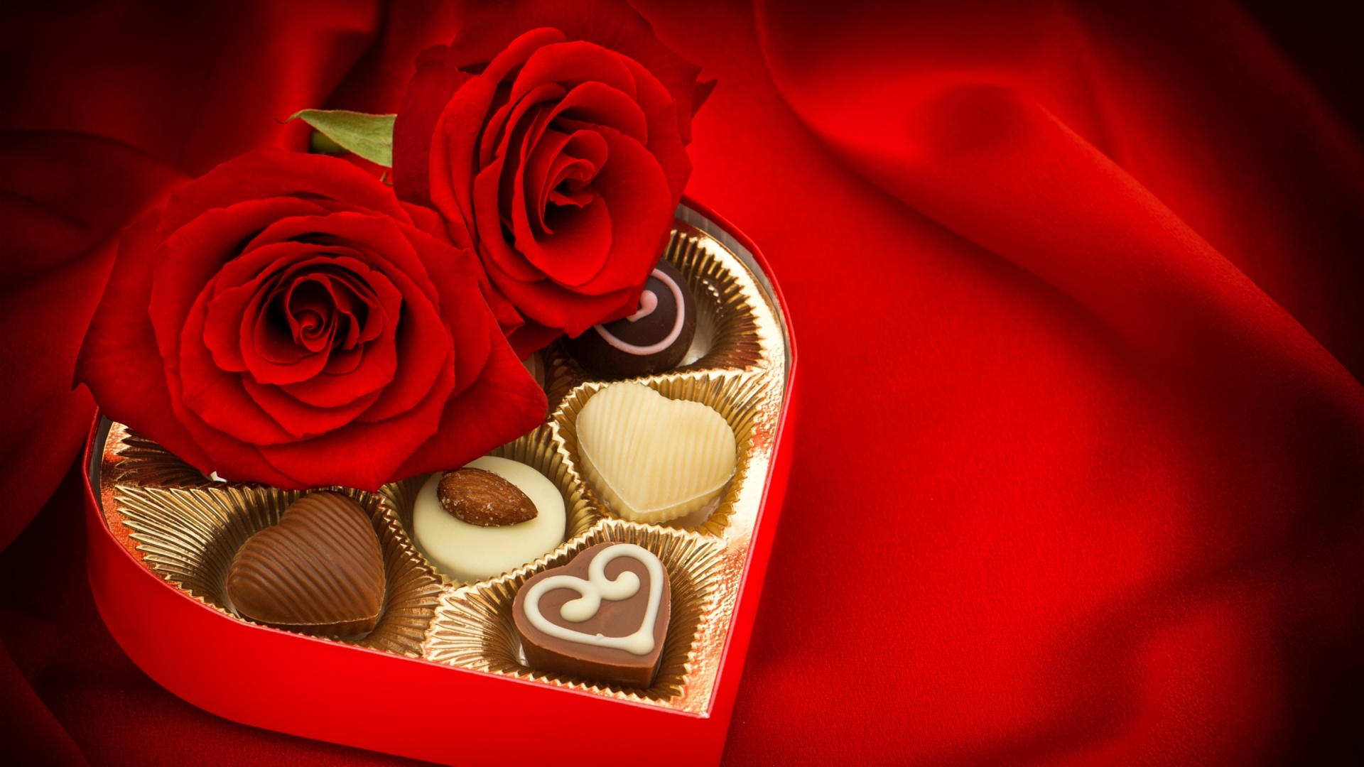 Download Hd Christmas Wallpapers Valentines Day Candy And Chocolate Wallpapers 1920x1080