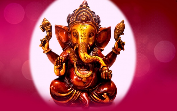 Desktop Wallpaper Hd 3d Full Screen God Ganesh Beautiful Lord Ganesha Brass Statue Wallpapers