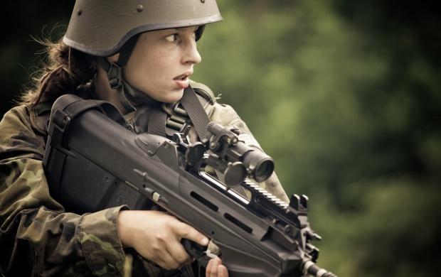 Usa Anime Gun Girl Wallpaper 1920x1080 Girl Soldier Fn F2000 Wallpapers