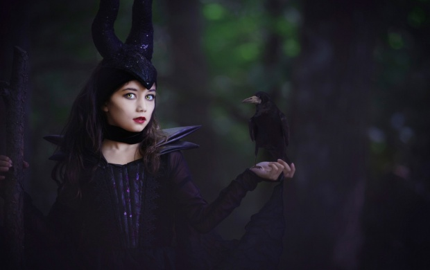 Baby Girl And Boy Wallpaper Maleficent Girl Wallpapers
