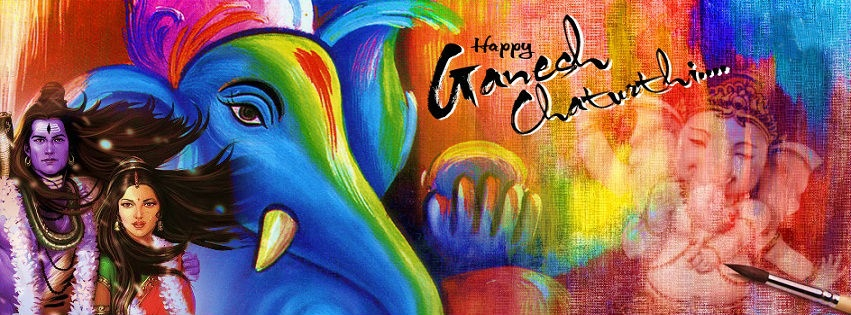 Hd Wallpaper For Desktop With Quotes Ganesh Chaturthi Art Wallpapers 851x315 173692