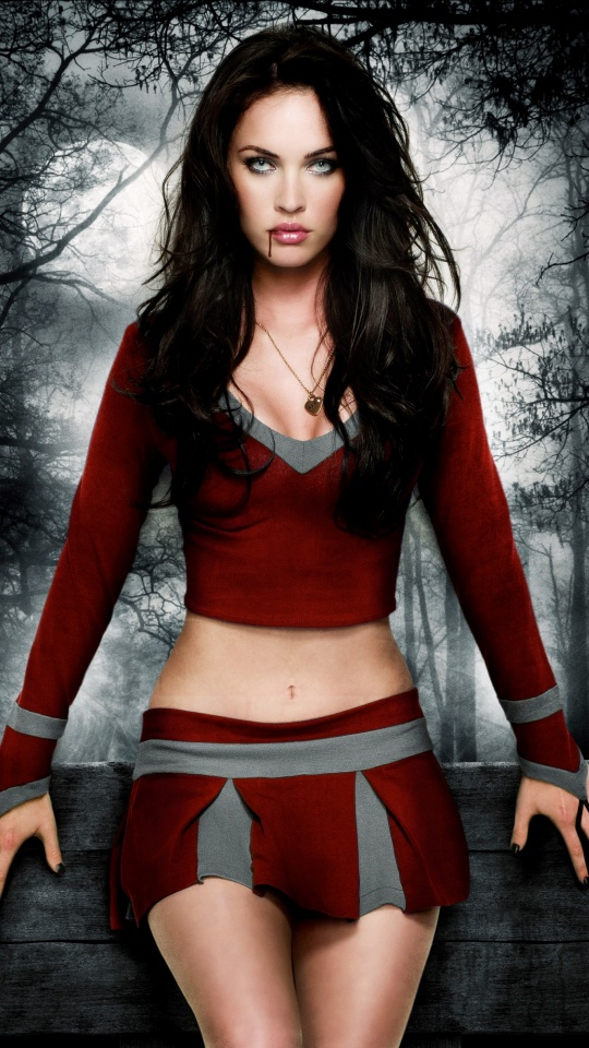 Best Iphone X Wallpaper Megan Fox With Red Blood Wallpapers 540x960 219967
