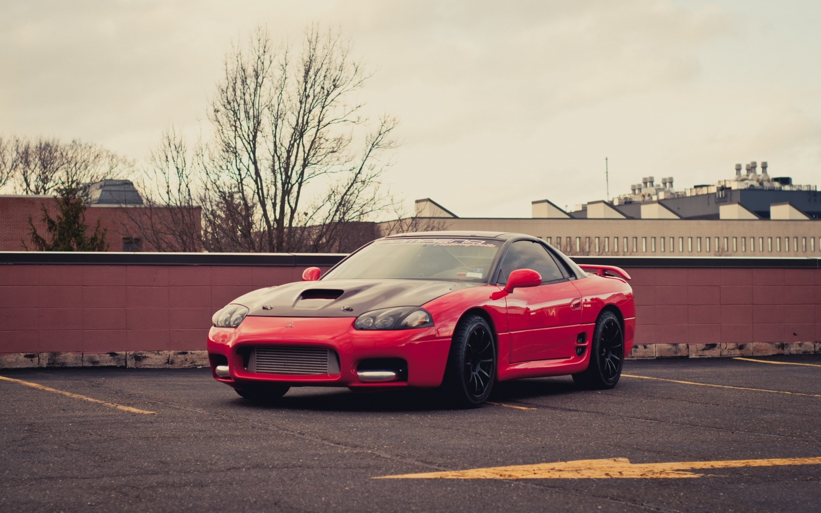 Red Car Wallpaper Download Mitsubishi 3000gt Red Car Wallpapers 1680x1050 514693