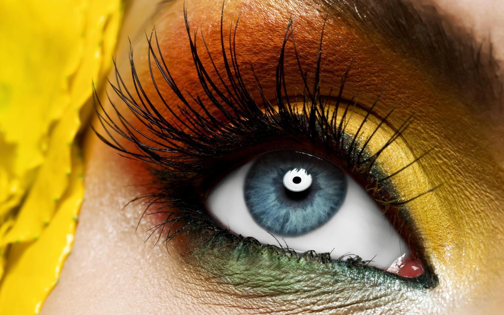 Beautiful Muslim Girl Hd Wallpaper Makeup Hd Eyes Makeup Close Up