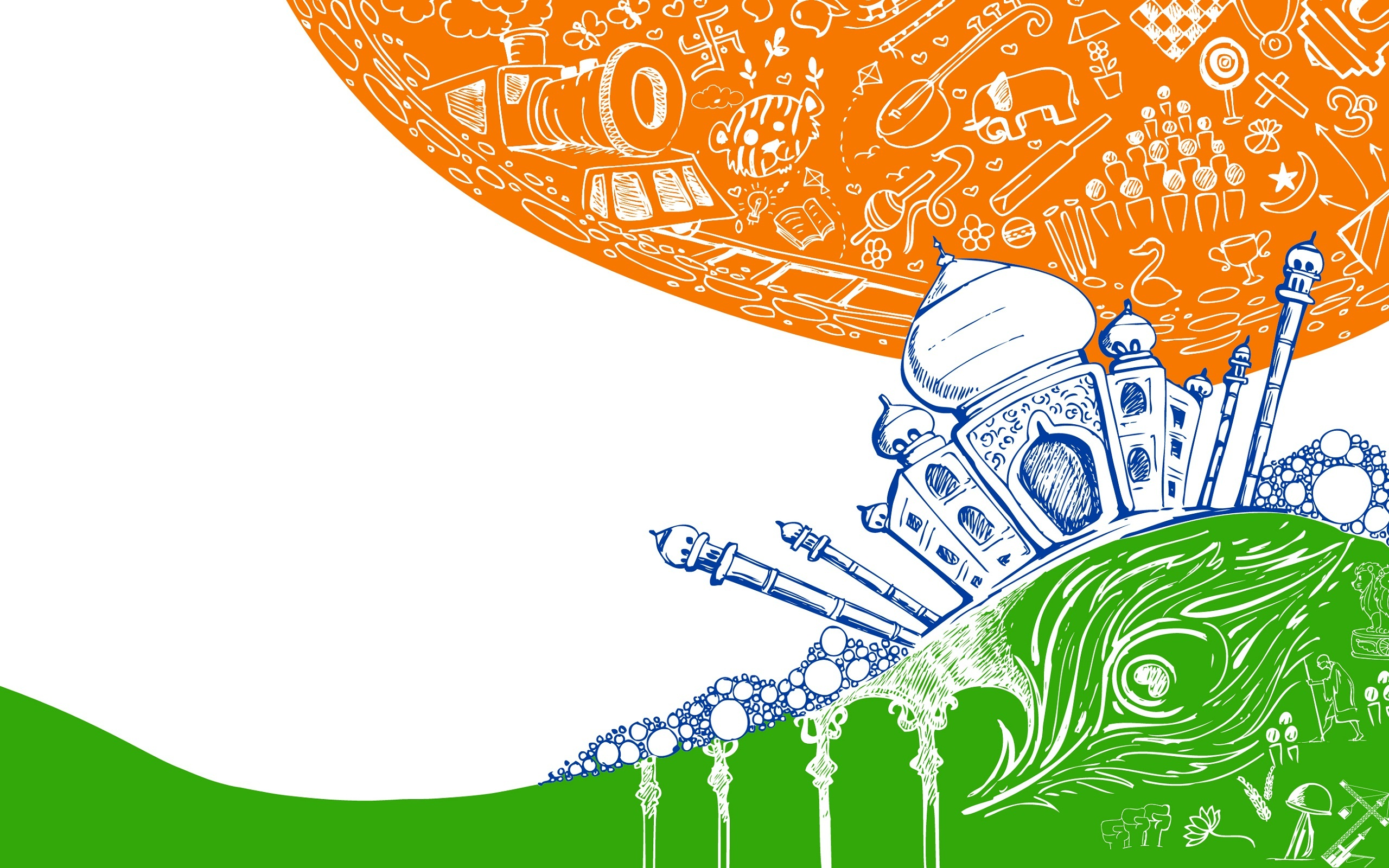 Indian Flag Full Hd Wallpaper 26 January Republic Day 2014 Wallpapers 2560x1600 1122776