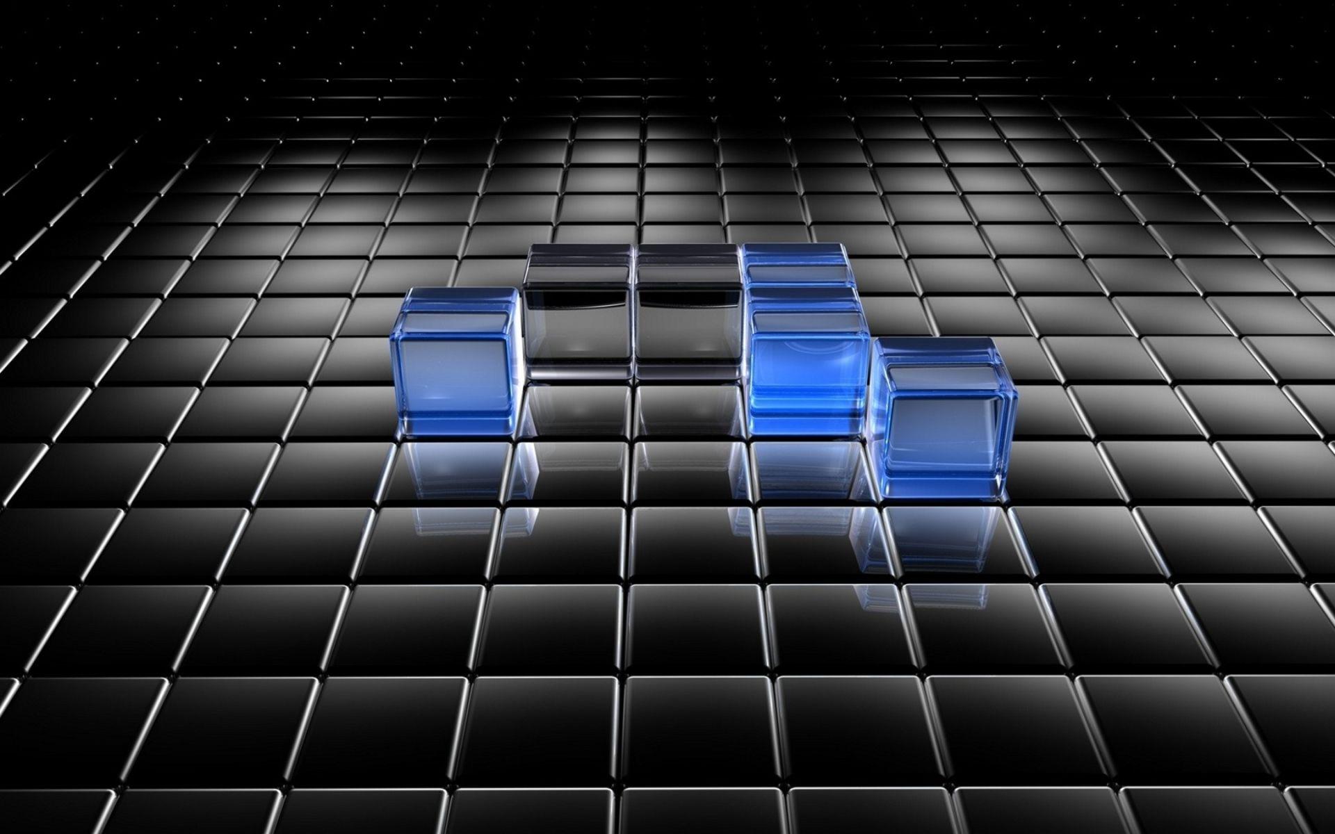 Download Desktop 3d Wallpapers 3d Blue And Black Graph Wallpapers 1920x1200 209617