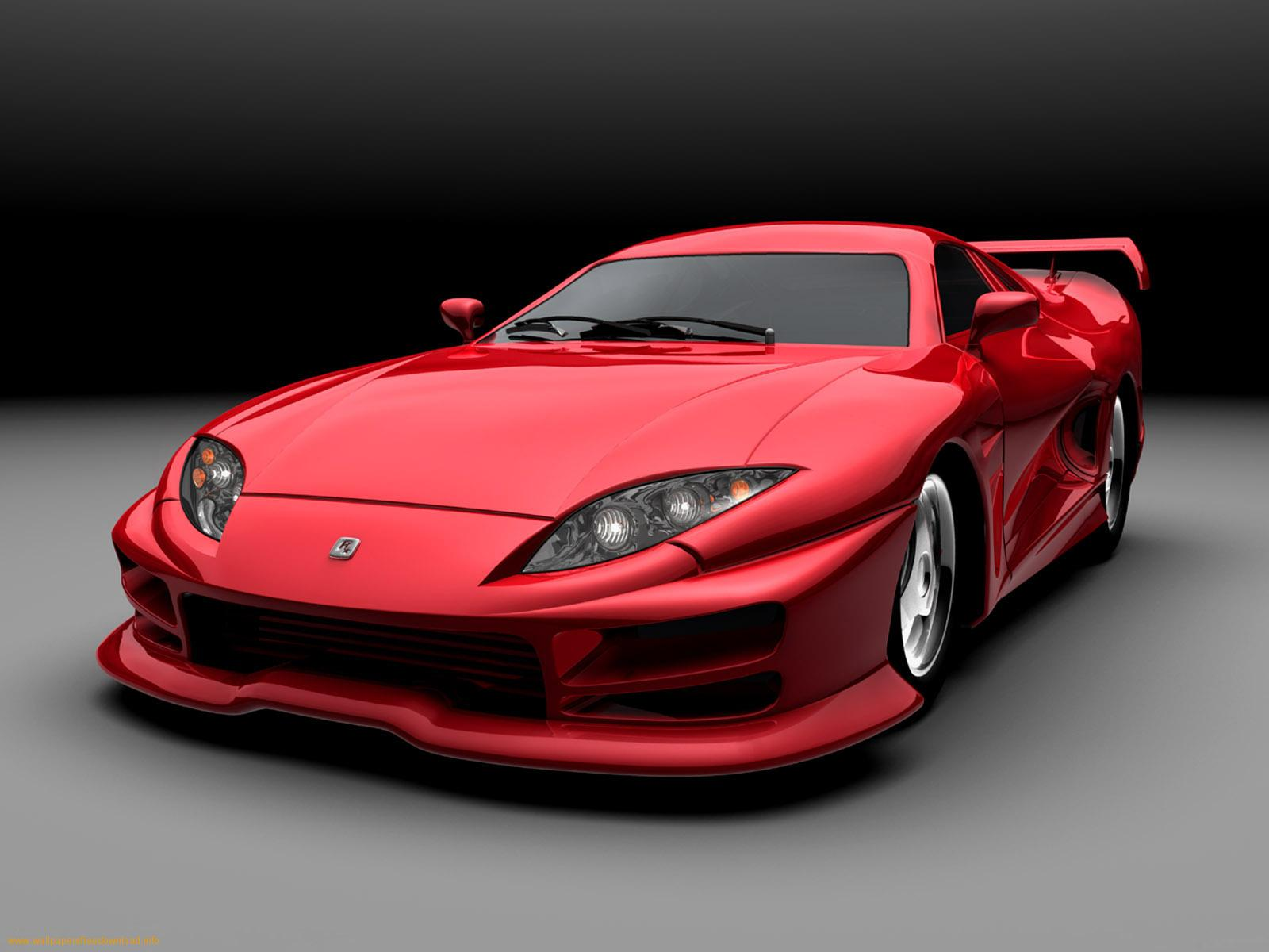 Red Sports Car X Download Close