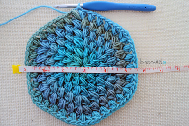 How To Size a Crochet Hat - BHooked Crochet Knitting