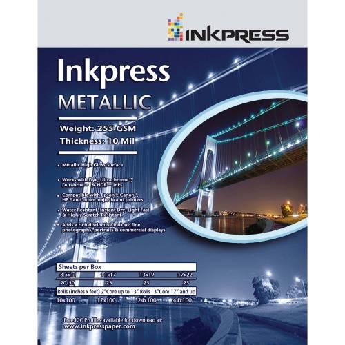 Medium Of Metallic Photo Paper