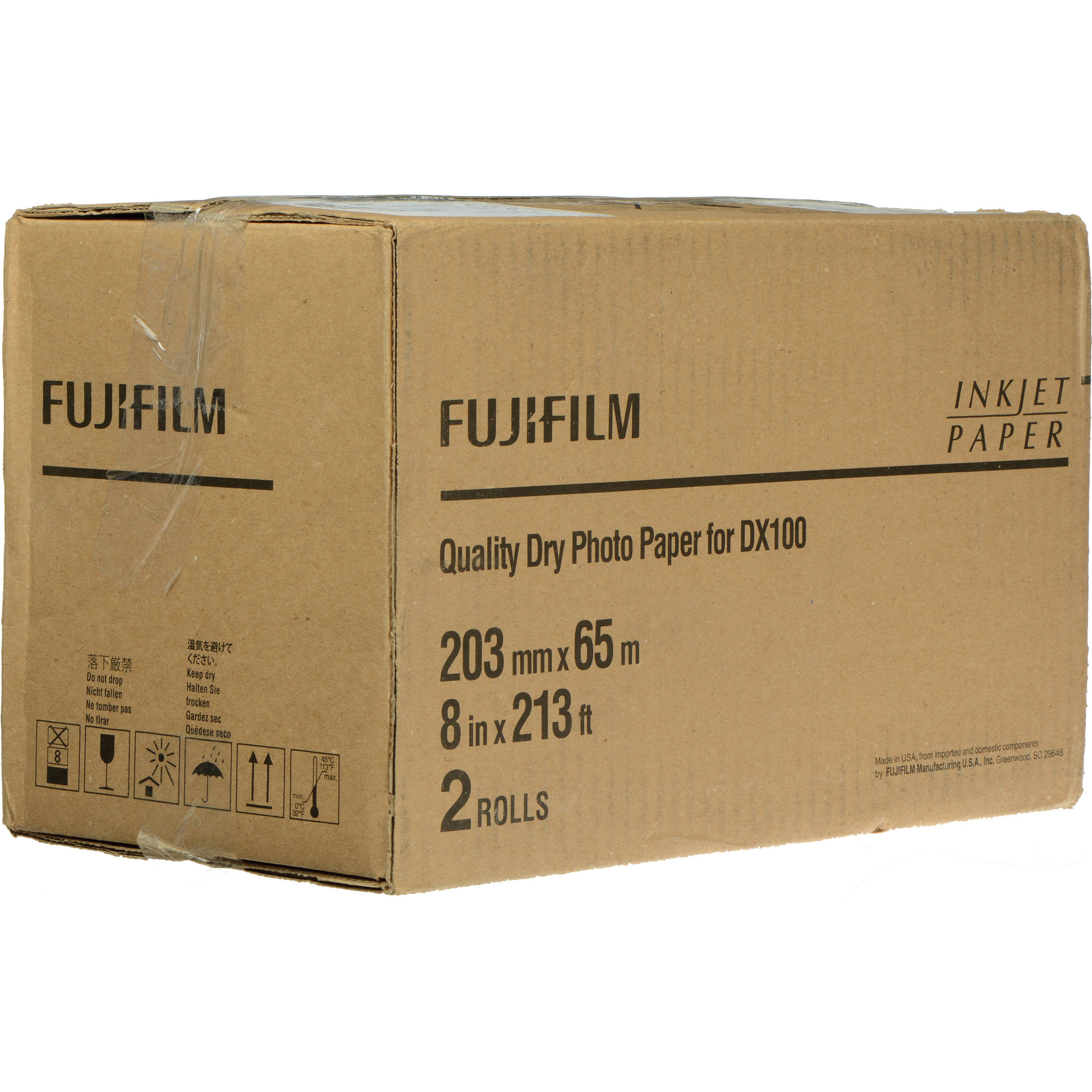 Fujifilm Quality Dry Photo Paper For Frontier S Dx100 7160502
