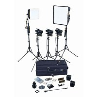 Dedolight Portable Studio 5-Light Tungsten Kit SPS5-U B&H ...