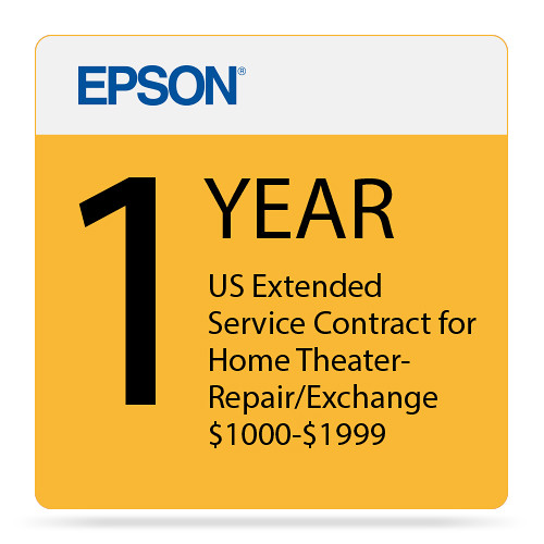 Epson 1-Year US Extended Service Contract for Home EPPSNPHTRF1