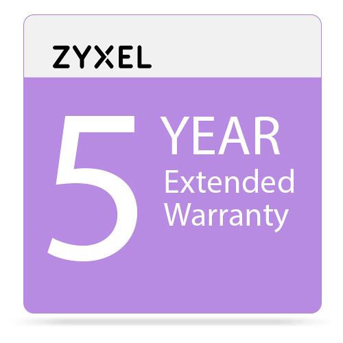 ZyXEL 5-Year Extended Warranty Service Contract ICWA5YCA BH