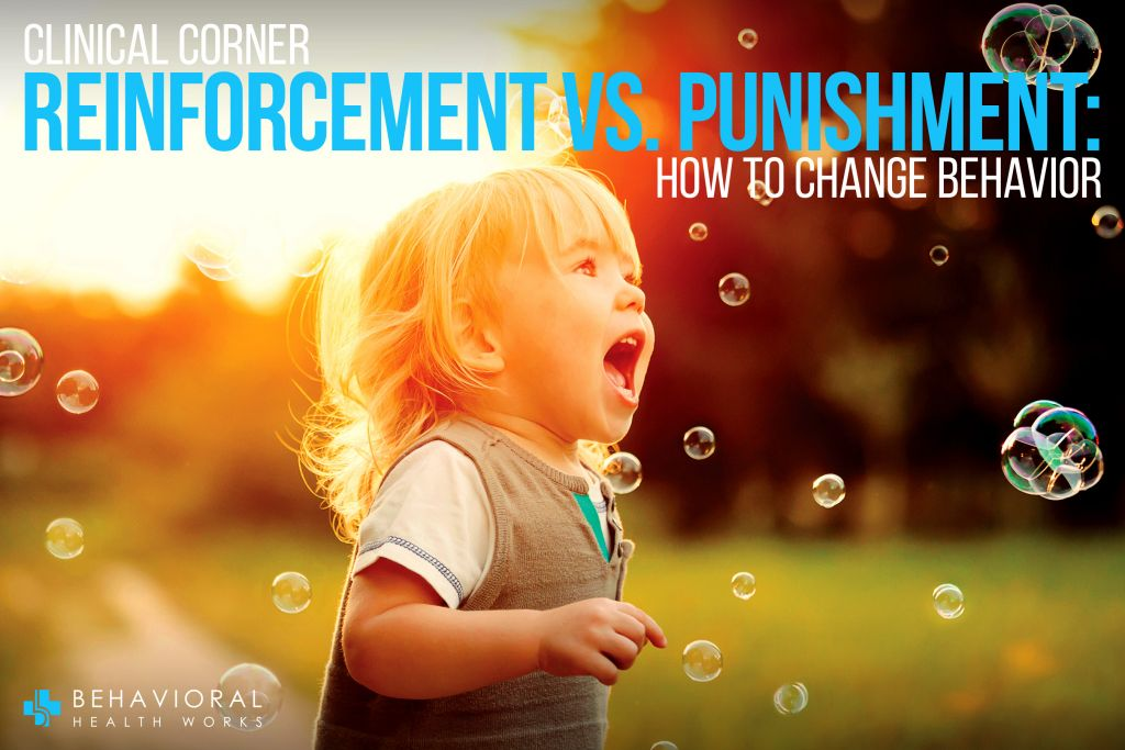 Reinforcement vs Punishment Changing Behavior