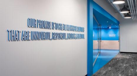Digital 3d Wallpaper Environmental Graphic Design Bialosky Cleveland