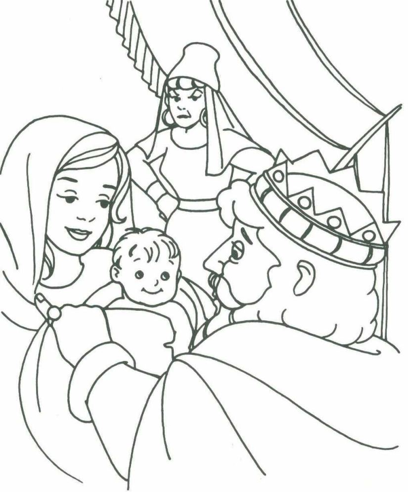 king david coloring pages virtren com