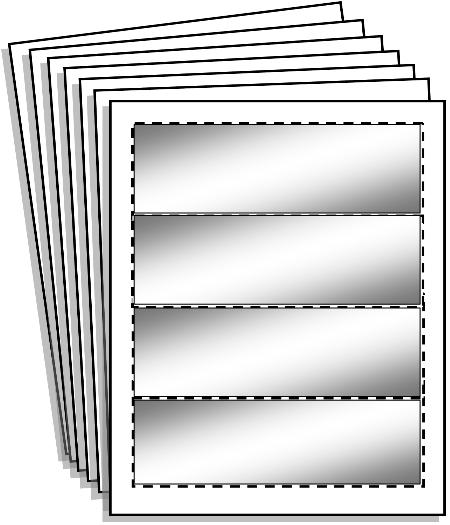 Perforated Cardstock Pack