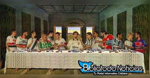 Jesus Last Supper Hd Wallpaper Estudiante Recrea La 250 Ltima Cena Mezclando El F 250 Tbol Con