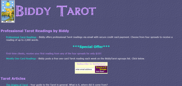 first-tarot-website