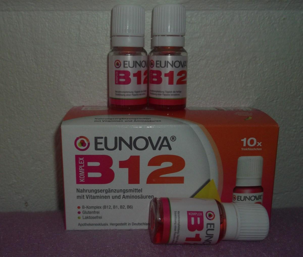 Selbsttest mit dem EUNOVA B12 Komplex