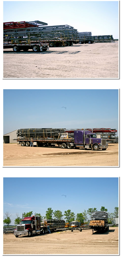 Truckloads of Schweiss Doors Schweiss Must See Photos