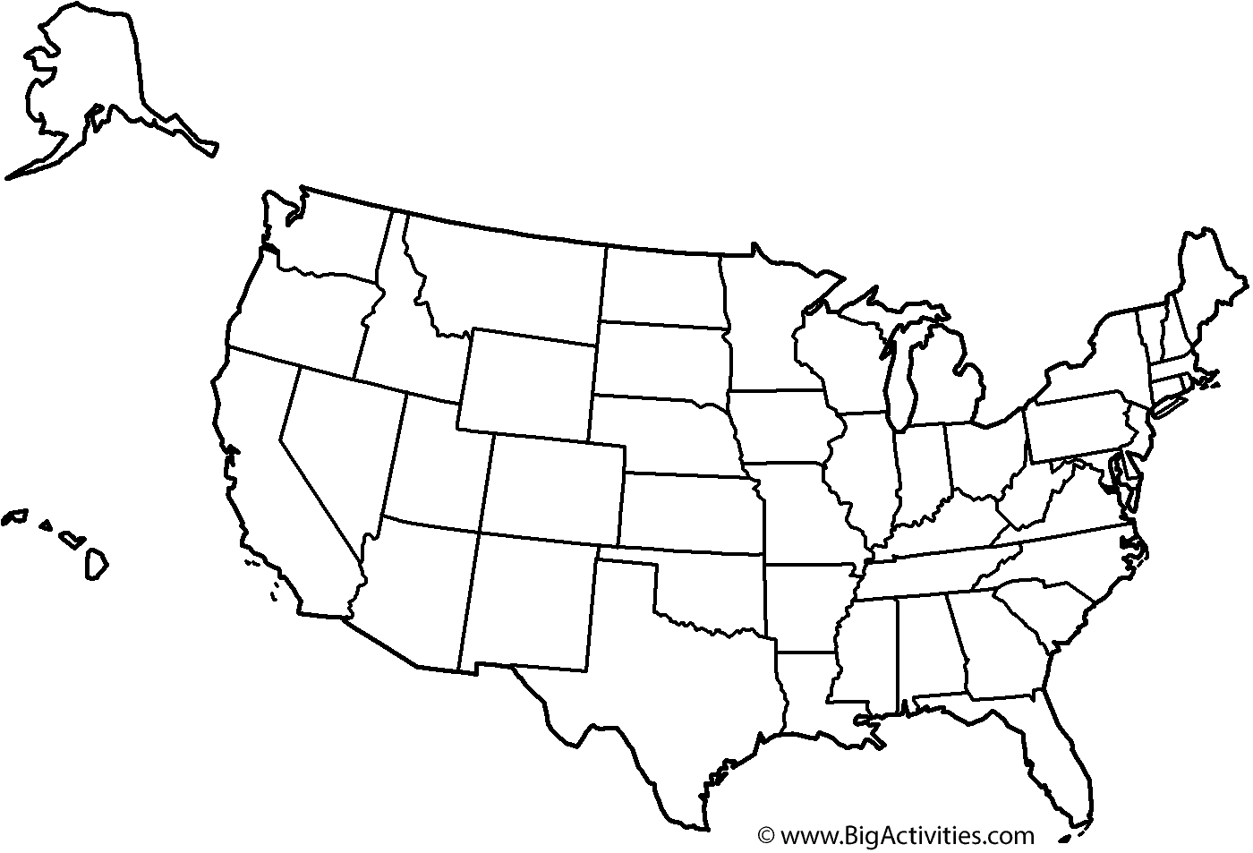 Printable United States Map | Sample Customer Service Resume