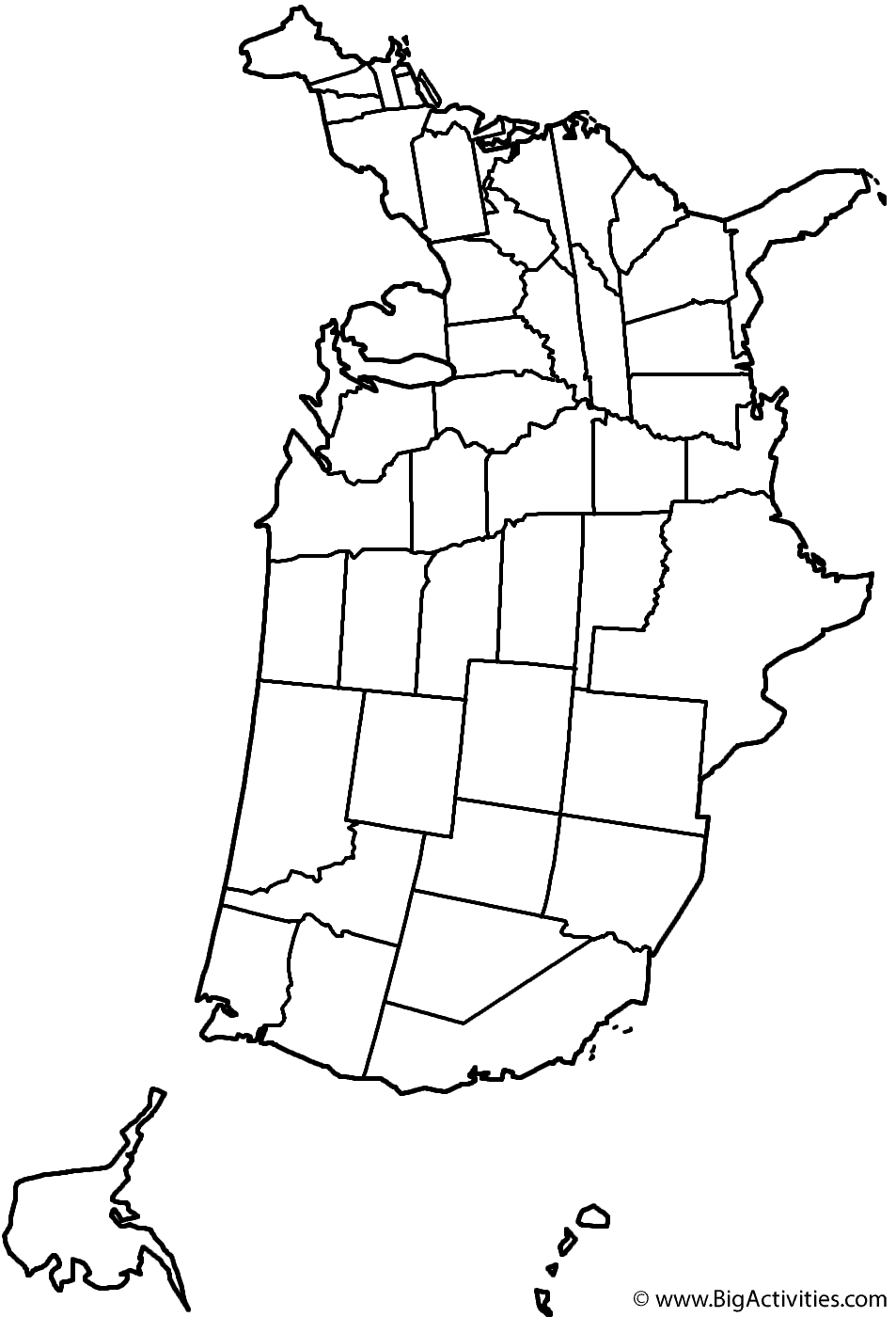Blank Map Of Us Ngemapservicedapartmentsco - Blank map of us pdf
