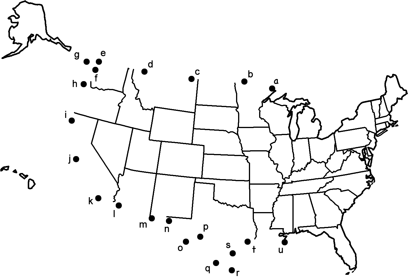 How To Draw A Map Of The USA 9 Steps with Pictures WikiHow