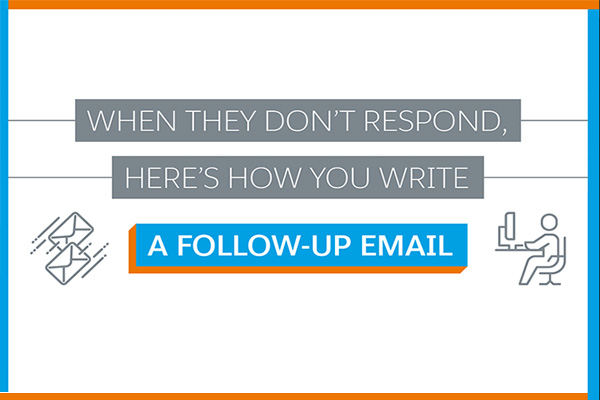 How to Write a Follow Up Email (Infographic)